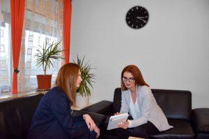 Maya Stoychevski coaching session